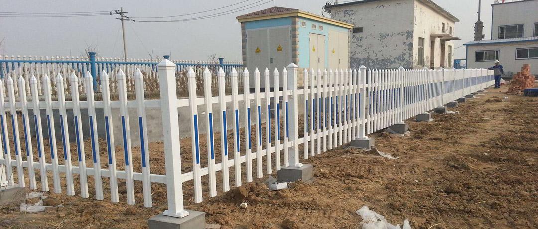 内蒙古-pvc社区围栏应用案例